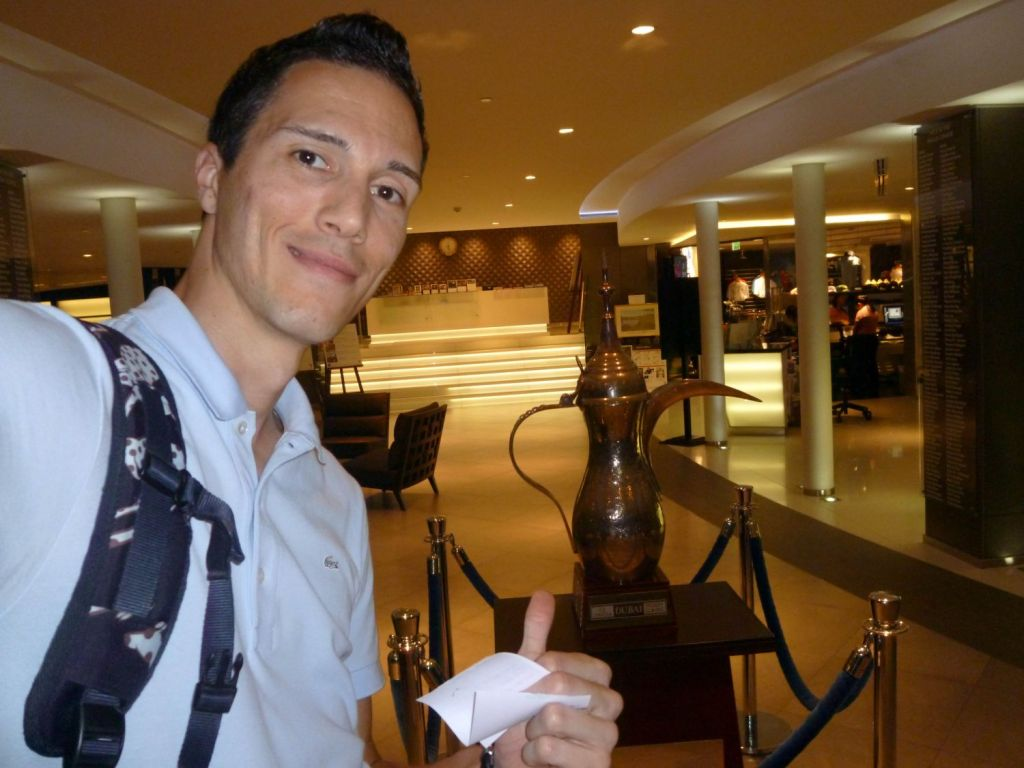 Dubai Desert Classic Trophy